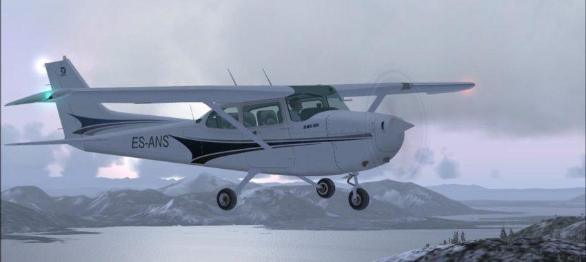 Заказать Cessna 172 Skyhawk на хоккейный матч